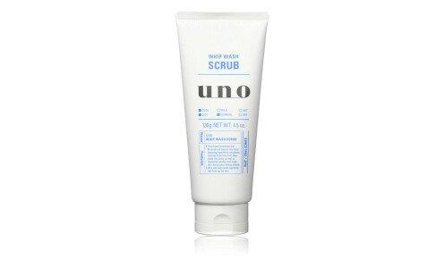 SHISEIDO UNO Whip Wash (Scrub) — пенка для умывания со скрабом