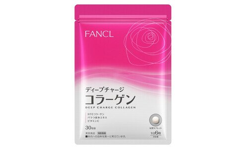 FANCL Deep Charge Collagen — коллаген в таблетках