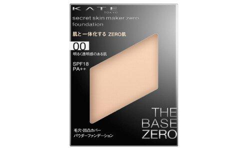 KATE Secret Skin Maker Zero (Pact) — компактная пудра, сменный блок