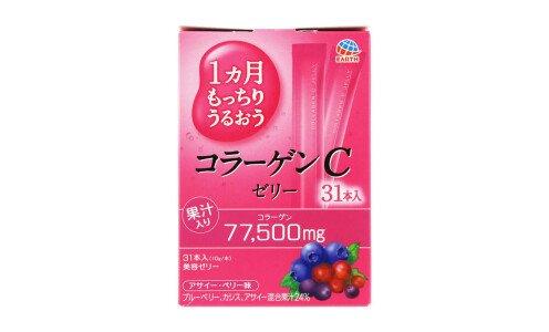 EARTH BIOCHEMICAL Collagen C Jelly — коллагеновое желе на 1 месяц.