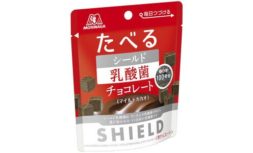 "MORINAGA Shield ""Съедобный щит"" — шоколад с лактобактериями для иммунитета"
