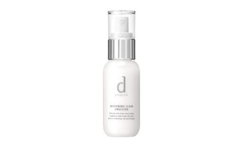 SHISEIDO d Program Whitening Clear Emulsion — эмульсия против покраснений, розацеа и воспалений