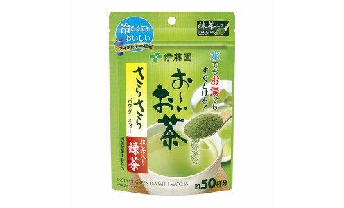 ITOEN Instant Green Tea with Matcha — растворимый зеленый чай с маття