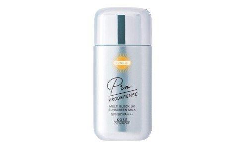 KOSÉ SUNCUT Pro Defence Multi Block UV Milk — санскрин с део-эффектом против пота и запаха