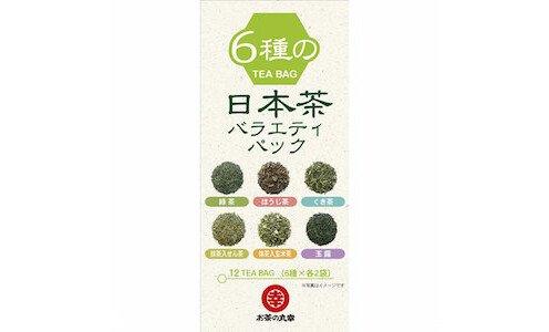 Ochanomaruko Tea Variety Pack — коллекция японских чаев