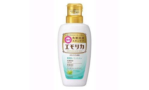 KAO Emolica, Medicated — эссенция для ванны повышающая барьерные функции кожи.