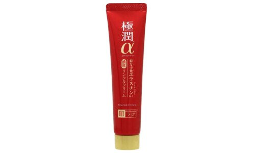 HADA LABO Gokujyun Alpha Super Moist Lift Cream — крем вокруг глаз и губ