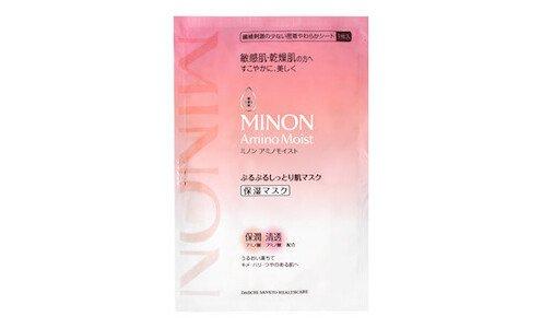 MINON Amino Moist Mask — увлажняющая маска для лица, 1 шт