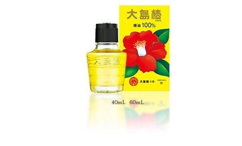 OSHIMA Tsubaki Hair Oil — чистое масло камелии для ухода за волосами, 60 мл.