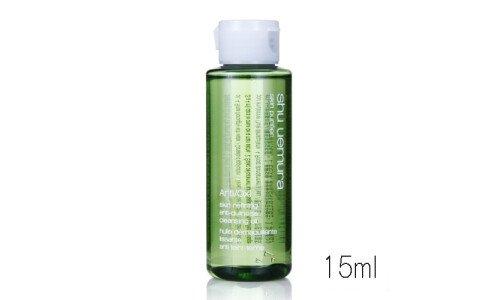 SHU UEMURA Anti/Oxi skin purifier — очищающее масло, миниатюра