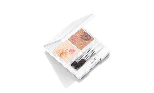 CHICCA Mystic Powder Eyeshadow — палетка теней (летняя коллекция)