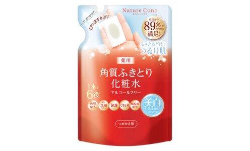 NARIS UP Nature Conc Clear Lotion — отшелушивающий и увлажняющий тоник, сменный блок