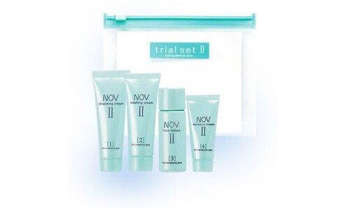 NOV Trial set II — набор миниатюр линии NOV для чувствительной кожи, склонной к раздражениям