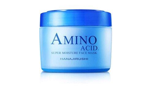 HANAJIRUSHI Amino Acid Super Moisture Face Mask — супер увлажняющая водная маска для лица