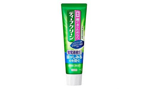 KAO Deep Clean Sensitive — лечебно-профилактическая зубная паста для чувствительных зубов, 100 г.