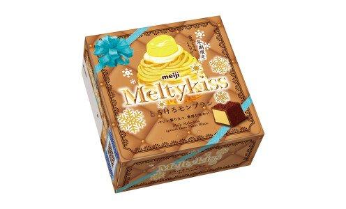 MEIJI Melty Kiss  Mont Blanc — сезонный шоколад с начинкой из сливочной карамели