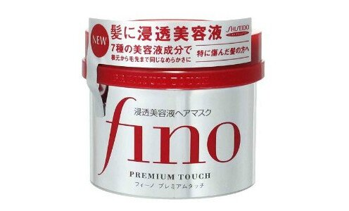 SHISEIDO Fino Premium Touch — питательная маска для волос.