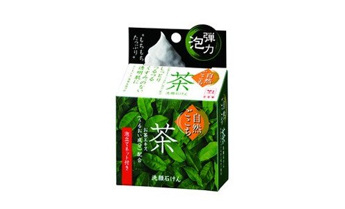 COW SOAP Shizengokochi – мыло с зеленым чаем.