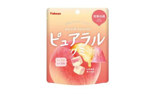 KABAYA Pureral Gummy — фруктовый мармелад со вкусом спелого персика