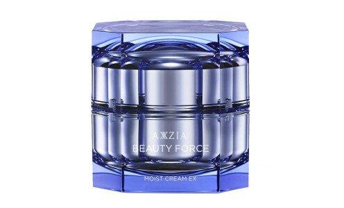 AXXZIA Beauty Force Moist Cream EX — пептидный крем для лица против морщин