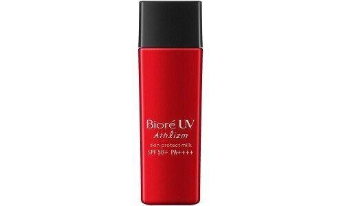 BIORE UV Athlizm Skin Protect Milk — молочко «вторая кожа» с максимальной защитой от солнца