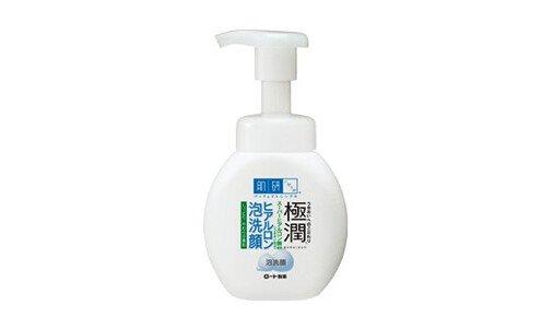 HADA LABO Gokujyun — мусс для умывания с гиалуроновой кислотой.