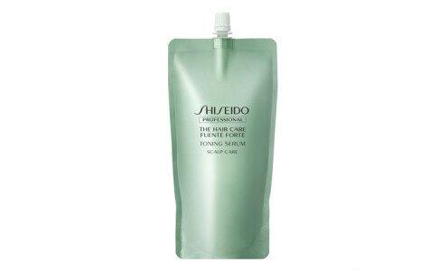SHISEIDO Fuente Forte Toning Serum — тонизирующий серум для кожи головы, сменный блок 450 мл