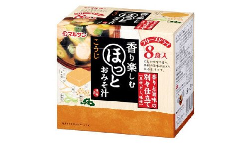 MARUSAN Freeze Dry Miso Soup — мисо-суп, 8 порций