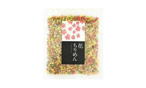 FUTABAEN Ajikurabe Furikake Hana Chirimen — разноцветное фурикаке из овощей
