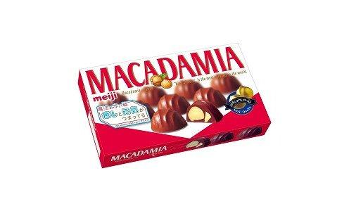MEIJI Macadamia — шоколад с орехом макадамия