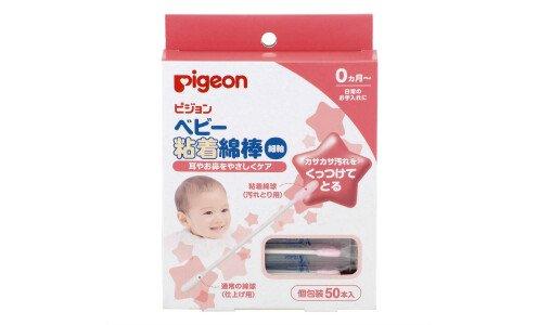 PIGEON Cotton Swabs — ватные палочки с липкой поверхностью