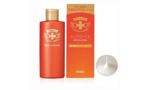 ROHTO Heparepair Medical lotion — молочко для тела для экстремально сухой кожи.