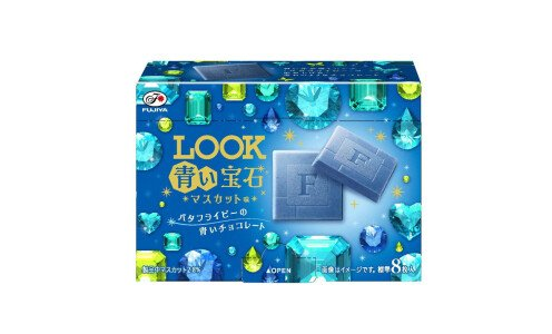 LOOK Blue Jewel — голубой шоколад с виноградом мускат
