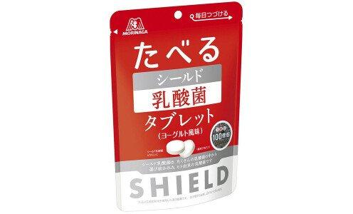 """MORINAGA Shield """"Съедобный щит"""" — драже с лактобактериями для иммунитета"""