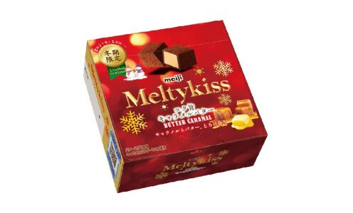 MEIJI Melty Kiss Butter Caramel — сезонный шоколад с начинкой из сливочной карамели