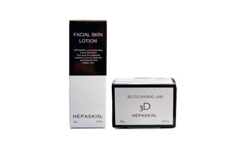 HEPASKIN Lotion and Cleansing Jam Trial Set — мини набор  из джема для очищения кожи и лосьона