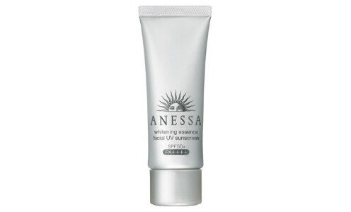 SHISEIDO Anessa Whitening Essence facial UV — отбеливающий санскрин для лица.