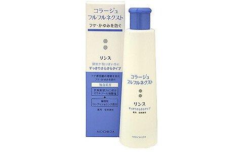 COLLAGE Furufuru Rinse, Medicated — антигрибковый бальзам-ополаскиватель для жирных волос, 200 мл.