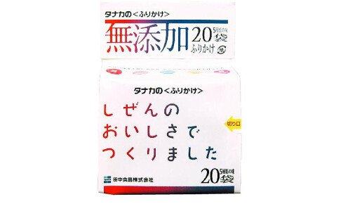 TANAKA Mutenka Furikake — порционные приправы для риса ассорти, без добавок