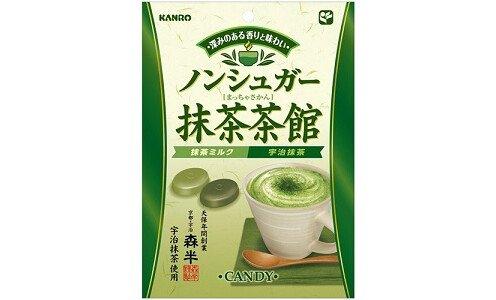 KANRO Matcha Chakan — леденцы с чаем маття