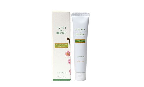 ICHI Organic Green Skin Wash — органический растительный гель для умывания