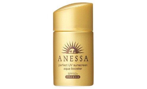 SHISEIDO Anessa Perfect UV Aqua Booster — санскрин для лица и тела, мини размер 25 мл.