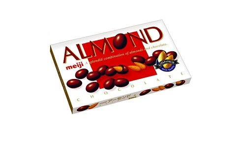 MEIJI Almond Chocolate — миндаль в шоколаде