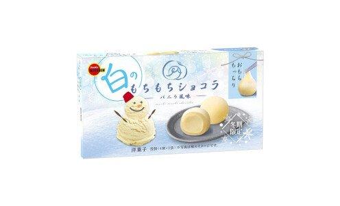 BOURBON Mochimochi Chocolat Vanilla — моти шоколад с натуральной ванилью