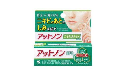 KOBAYASHI Attonon Acne Scars Gel  — лечебный гель против постакне