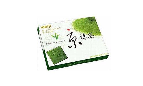 MEIJI Kyo Matcha — шоколад из зеленого чая