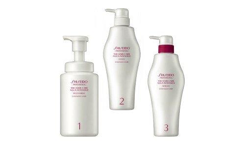SHISEIDO Professional Aqua Intensive Perfect Repair — профессиональная система ухода за волосами
