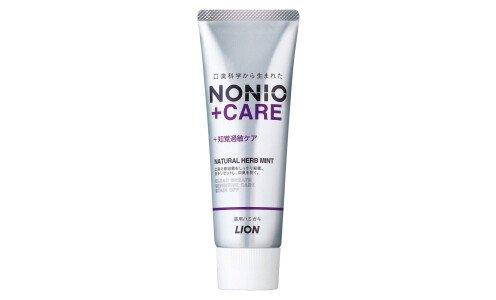 LION Nonio+ Sensitive Care Toothpaste — освежающая дыхание паста для чувствительных зубов