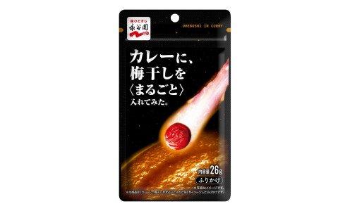 NAGATANIEN Umeboshi in curry — фурикакэ со вкусом карри и маринованной сливы