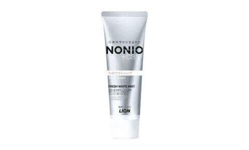 LION Nonio+ Whitening Toothpaste — освежающая дыхание паста для отбеливания зубов